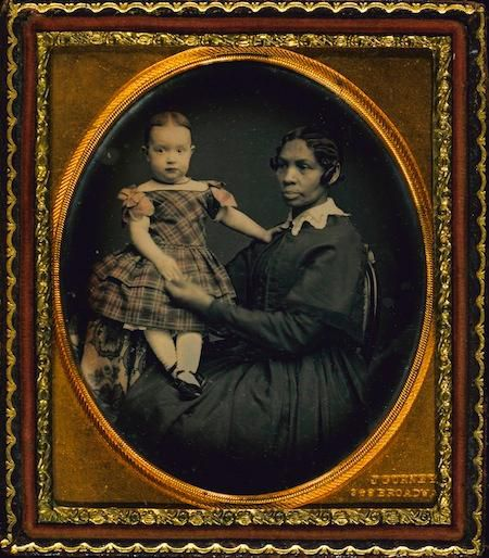 Jeremiah Gurney's Woman and Child