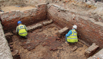 Archaeologists Unearth Traces of What May Be London's Oldest Theater