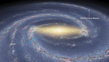 "Scientists Peek Across the Galaxy to the ""Dark Side"" of the Milky Way"