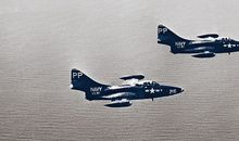 pair of F9F-5 Panthers
