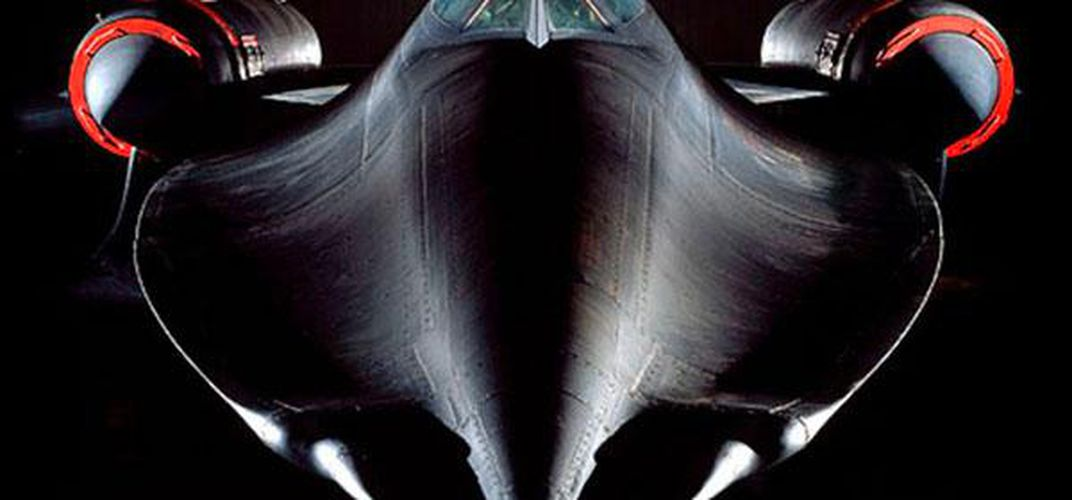 Caption: The SR-71 Was Close to Perfect