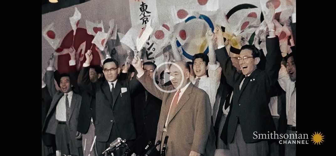 Caption: The 1964 Olympics Was Pivotal to Postwar Tokyo