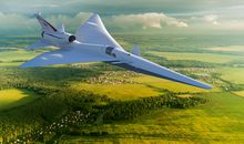 Silence, Please: Lockheed Aims to Build a Quieter Supersonic Airplane