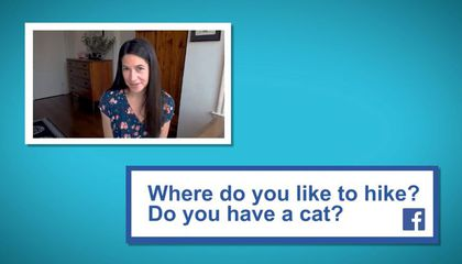 liz with  facebook  question