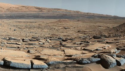 On Mars, Organics Are Hard to Find