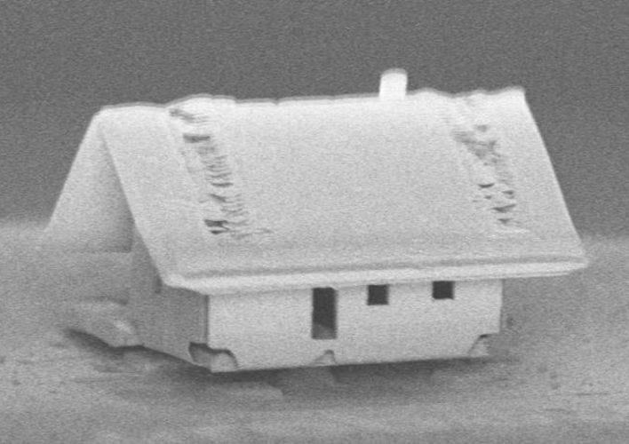 Caption: Scientists Have Built the World's Smallest House