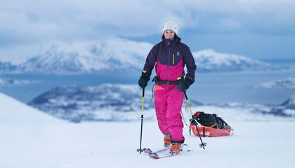 Swedish Woman Smashes Record for Skiing Solo to the South Pole