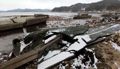 Japan Is Building a 40-foot Wall to Stop Tsunamis