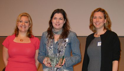 Sarah Zielinski Wins Writing Award