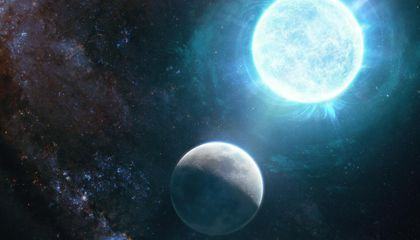 Incredibly Dense White Dwarf Star Packs the Mass of the Sun Into the Size of the Moon