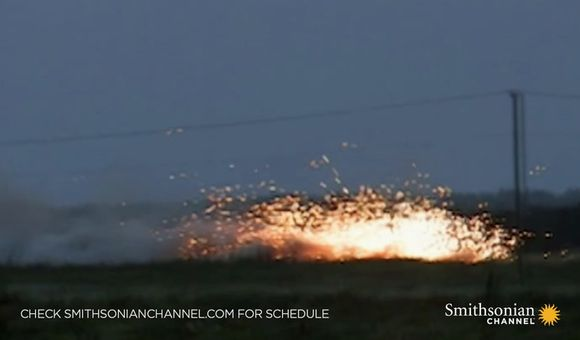 Preview thumbnail for video'Deadly AC-130 gunship in action firing all its cannons