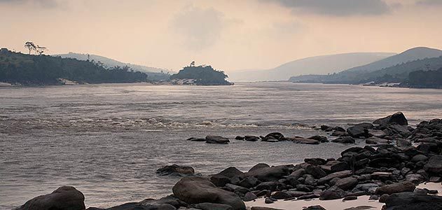 Lower Congo River