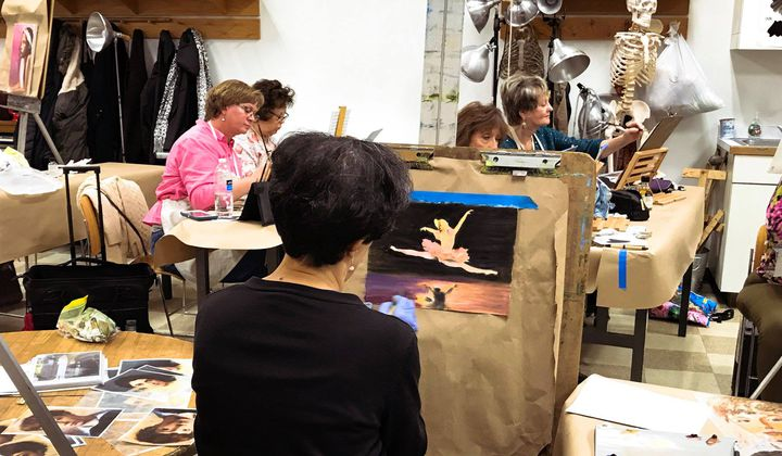 Smithsonian Studio Arts Oil Painting Class (Smithsonian Associates)