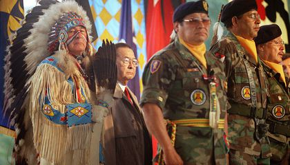 A New Memorial Will Soon Honor the Heroism of Native American Veterans