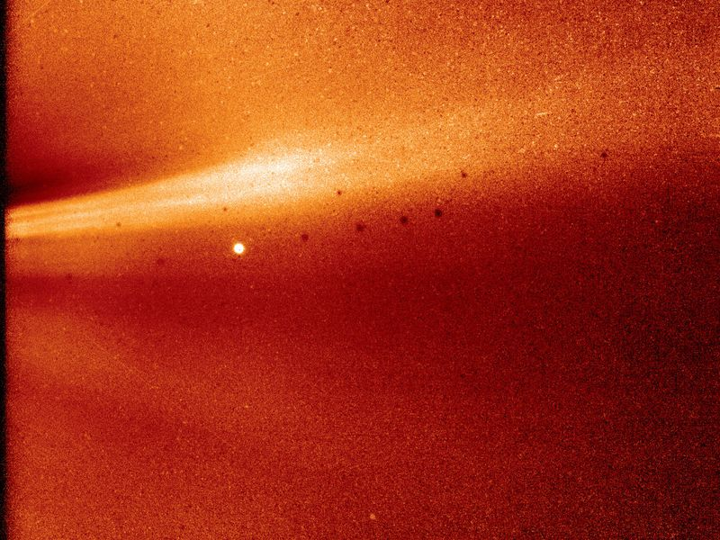 Solar Probe Sends Back First Image and Data From the Sun