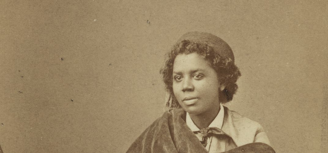 Caption: Edmonia Lewis, the Sculptor, Who Broke the Mold