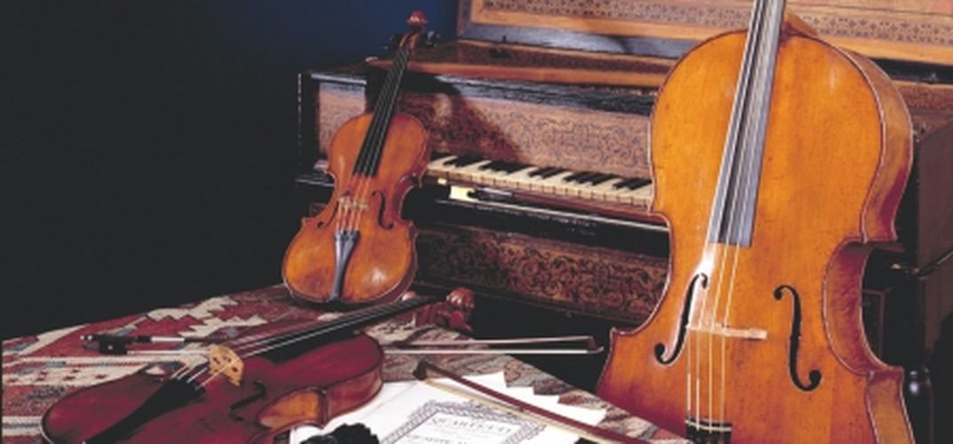 Amati Quartet instruments, collection of the National Museum of American History