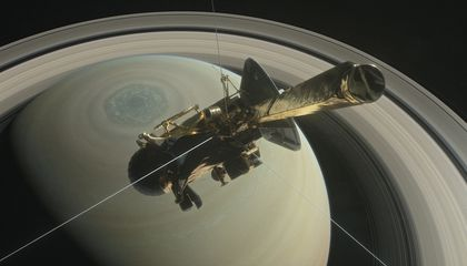 Cassini Makes a Daring Dive
