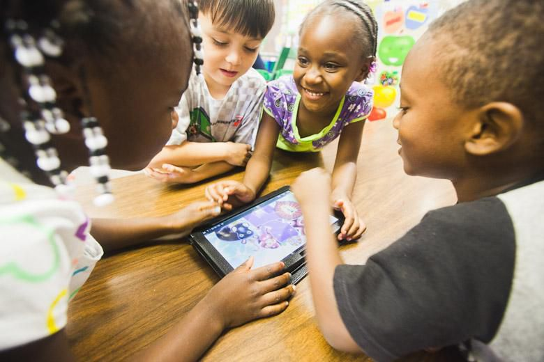 The Students Would Use Devices In Class For Around 40 Minutes Each Day And Every Child Take A Tablet Home One Weekday Afternoon