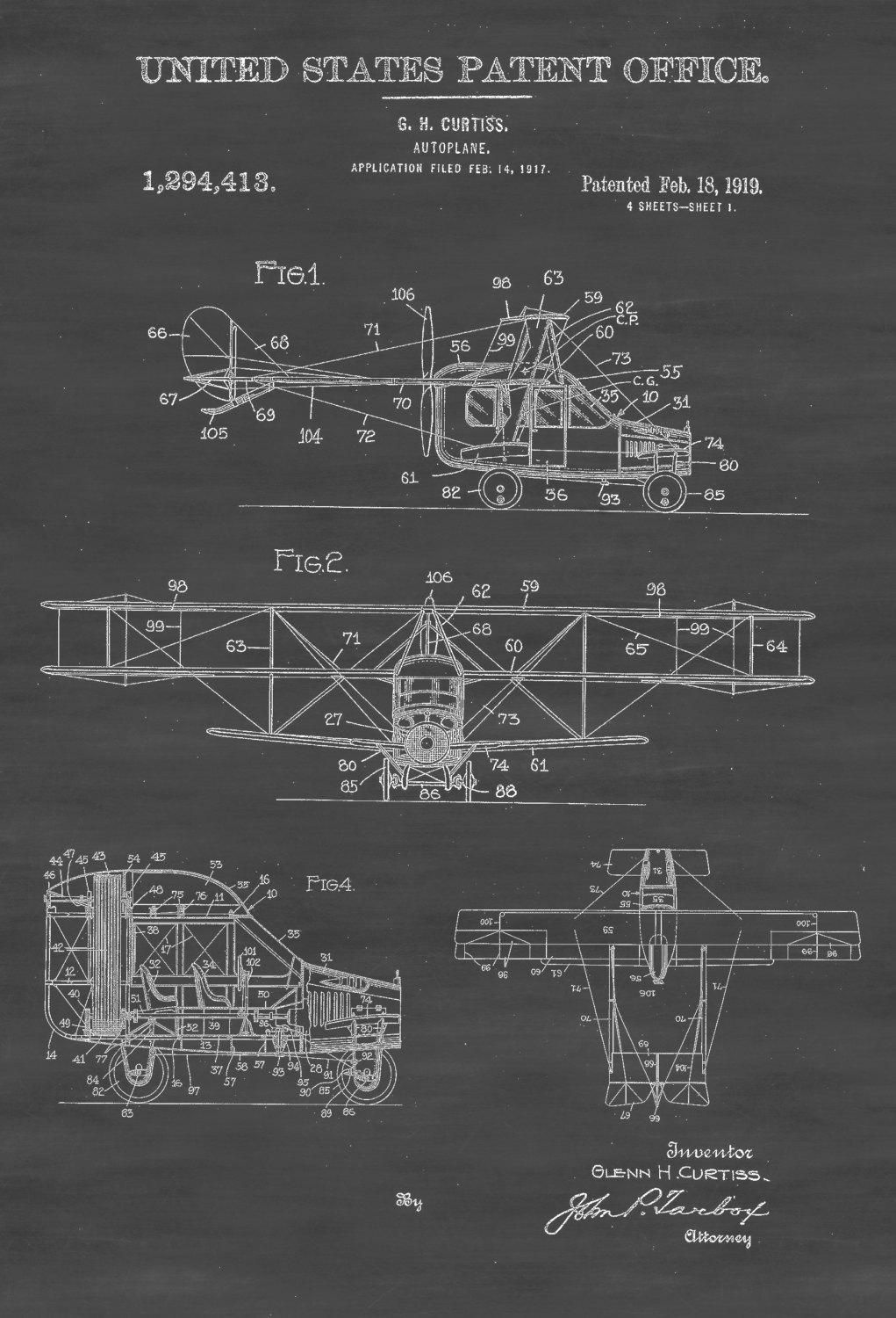 So Thats What Flying Cars Are For Flight Today Air Space Magazine Mad Max Engine Diagram The Curtiss Autoplane Was Unveiled In 1917 As A Limousine Of Built To Carry Two Passengers And Chauffeur Google Patents Us1294413