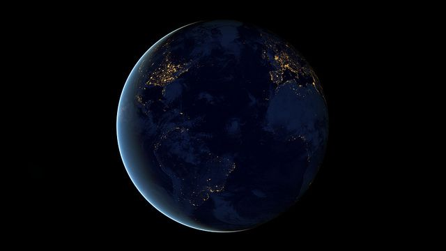"""Nothing tells us more about the spread of humans across the Earth than city lights"" – NOAA."
