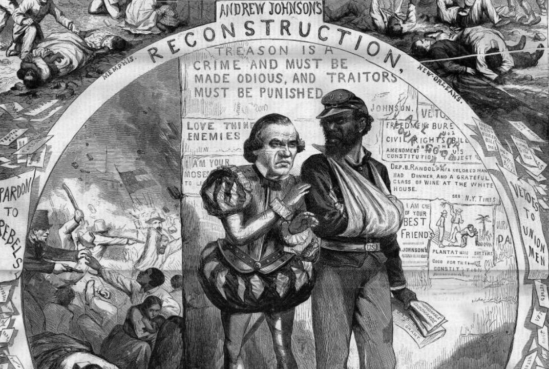 The Political Cartoon That Explains the Battle Over Reconstruction ...
