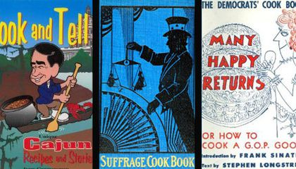 The Edible Is Political: Cookbooks from Both Sides of the Aisle