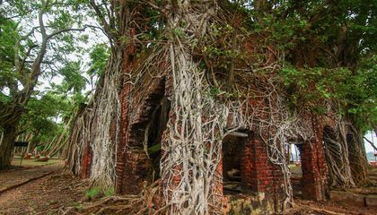 India's Abandoned Island of Colonial Horror