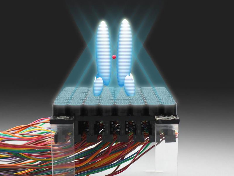 "Ultrasonic ""tractor beam"""