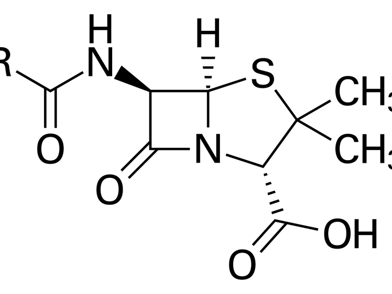 Chemical structure of the Penicillin core