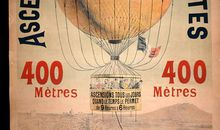 Balloons drew big crowds in turn-of-the-century Paris.