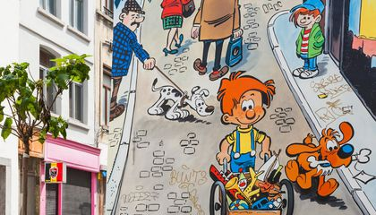 How Brussels Became a Real-Life Comic Strip