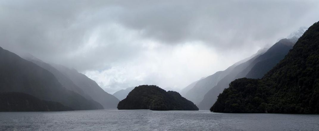 A fjord in New Zealand (Kirt Kempter)