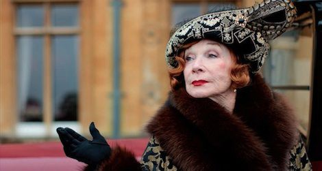 "Shirley MacLaine makes her debut as Martha Levinson this Sunday in ""Downton Abbey."""