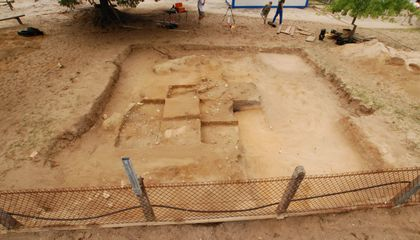 Burial Mound Found on Kindergarten Playground Was Used for 2,000 Years
