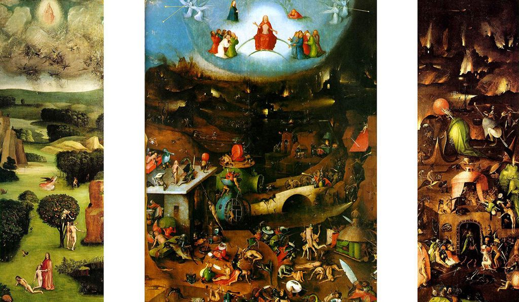 <em>The Last Judgment</em> is thought to be created by a Bosch follower.