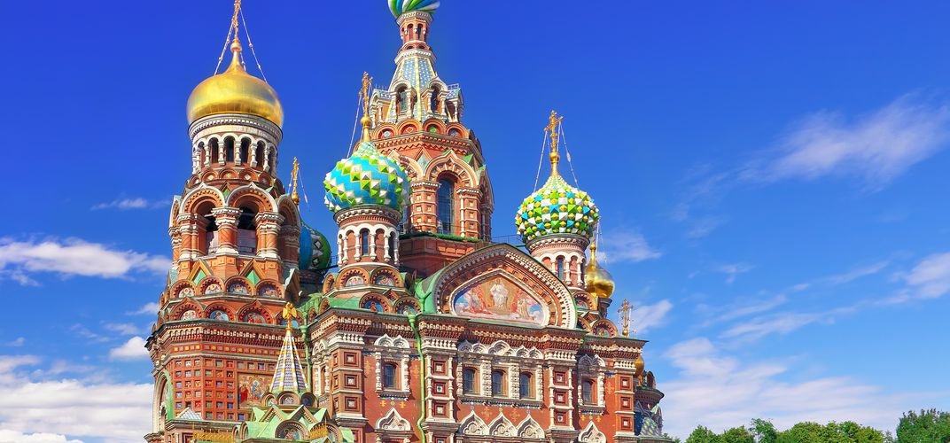 St. Petersburg's iconic Church of the Spilled Blood