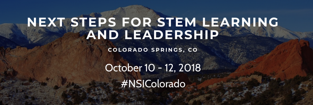 The 2018 Next Steps Institute  will be held in Colorado Springs, CO from October 10-12, 2018.
