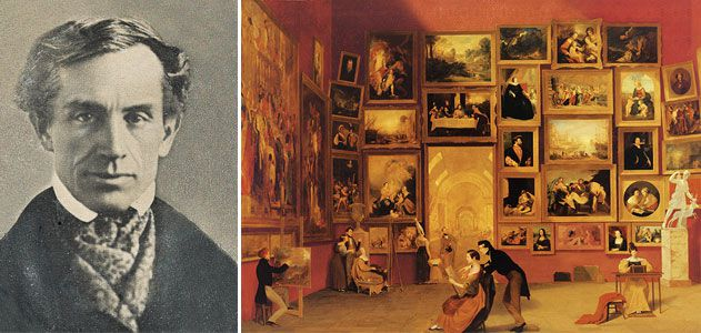 Samuel Morse and Gallery of the Louvre