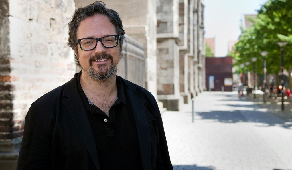 """We live in an era where a fingerprint lets you into your country, or it lets you into your phone,"" says artist Rafael Lozano-Hemmer (above). ""How can we misuse these technologies of control to create connective, poetic or critical experiences? That's what this show is about."""