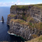 This picture was taken at the edge of the Cliffs of Moher, Co. Clare Ireland, of a Sea Stack.