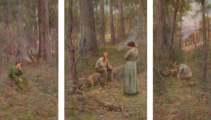 Missing Australian Masterpiece Spent 115 Years Hiding in Plain Sight