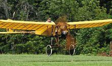 At Old Rhinebeck Aerodrome, Hugh Schoelzel channels Louis Blériot in the nation's oldest flying aircraft.