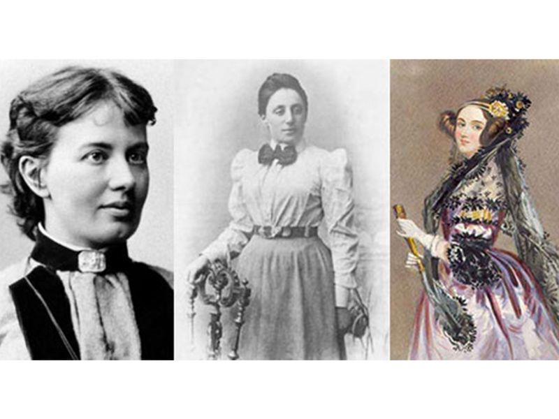 b7b0fbc41 Sofia Kovalevskaya, Emmy Noether and Ada Lovelace are just three of the  many famous female