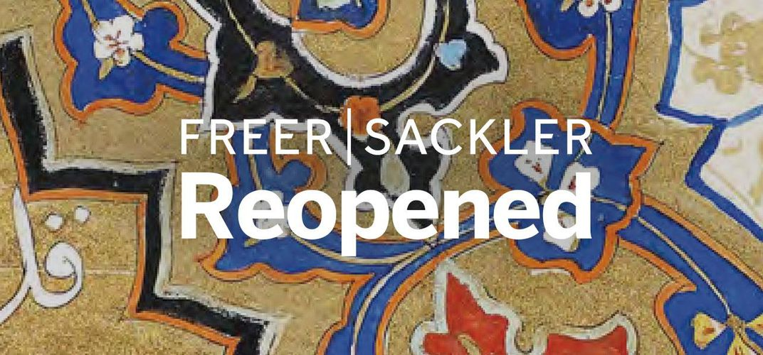 Caption: Freer|Sackler: Reopened