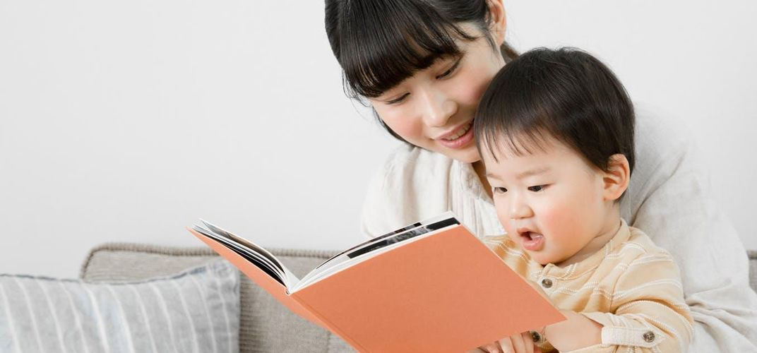 Caption: What to Read to Your Baby and When