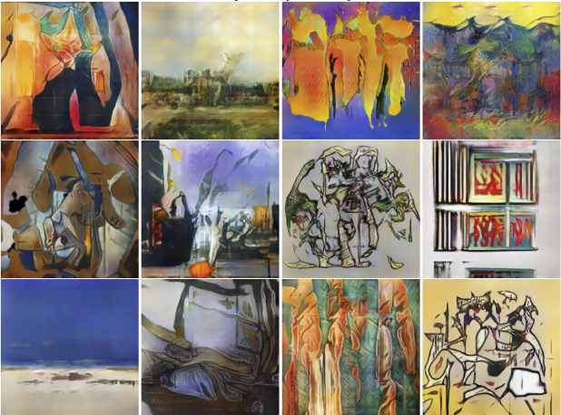 AI Project Produces New Styles of Art