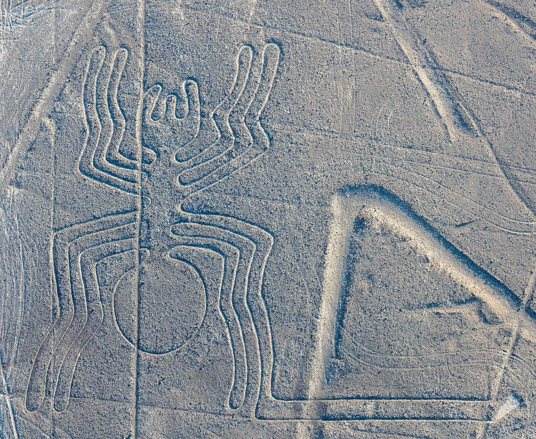 Nazca Line in Shape of Spider