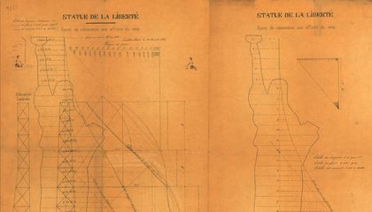 Recently Discovered Drawings for the Statue of Liberty Hint at a Last-Minute Change