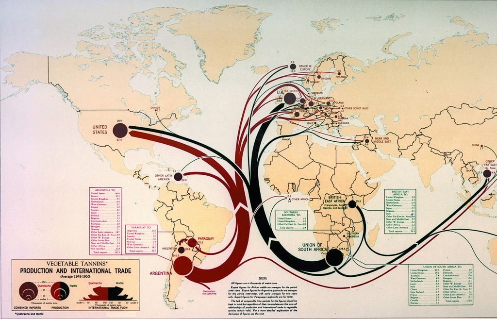 The cia is celebrating its cartography divisions 75th anniversary global trade as envisioned in the 1950s cia gumiabroncs Images
